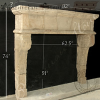 Antique Mantle CH 512