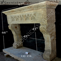 Antique Mantle CH 858