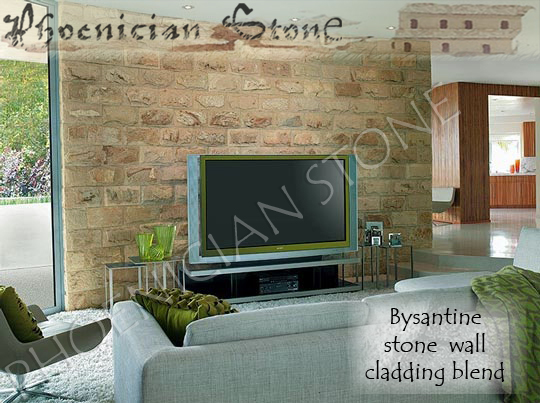 Byzantine Stone©, Roman Stone© and Tuscan Stone© Reclaimed Wall Cladding Blend