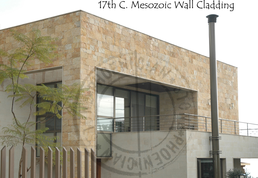 Mesozoic Stone© Reclaimed Wall Cladding (400 to 600 years old)