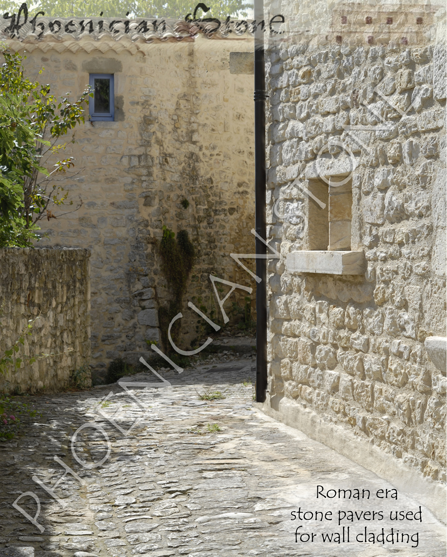 Roman Cobble Stone© Reclaimed Wall Cladding (2000 years old)