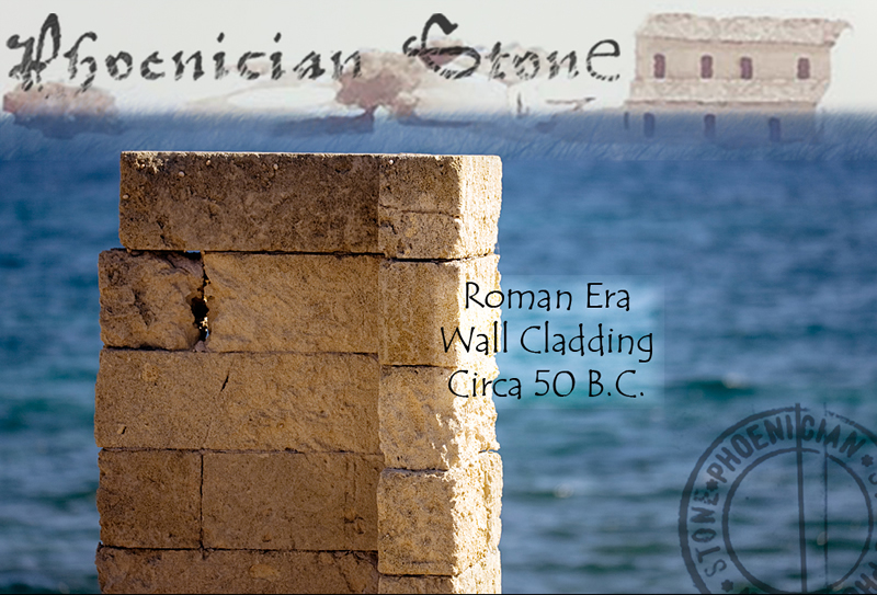 Roman Sea Stone© Reclaimed Wall Cladding (2000 years old)