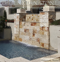 Mesozoic Stone© Reclaimed Walls Cladding (400 to 600 years old)