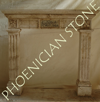 The 'Camina Di buona fortuna' Fireplace Mantle