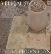 Biblical Stone in our Los Angeles Showroom California