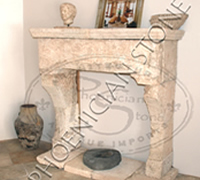 The 'Camina Bastide' Fireplace Mantle
